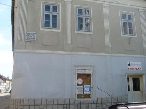 Casa in care a fost asasinat Petre Dobra