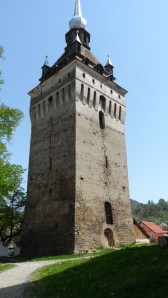 Turn biserica Saschiz