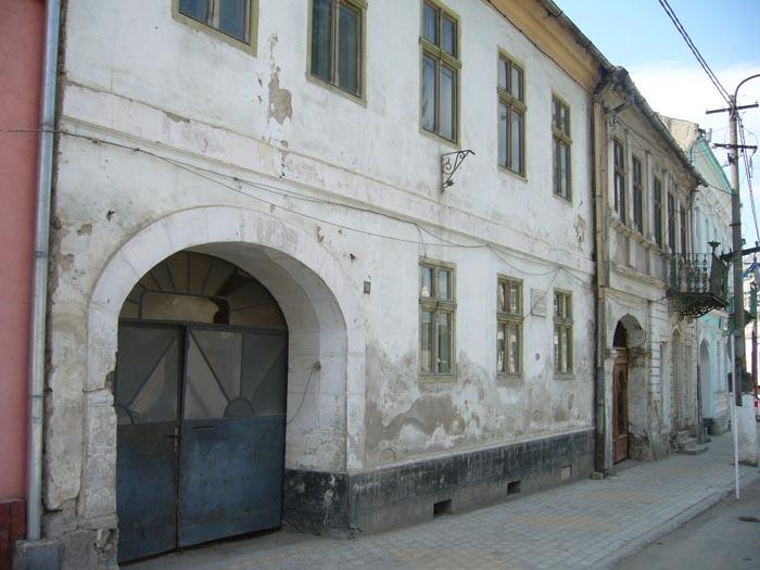 Casa in care a locuit familia Borza